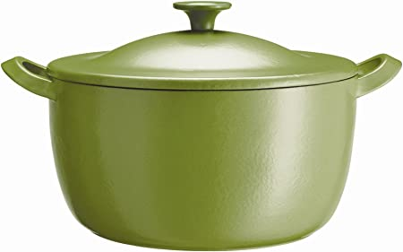 Tefal Jamie Oliver At Home Series Cast Iron Lime Green J O Covered Casserole Dish Küche Haushalt