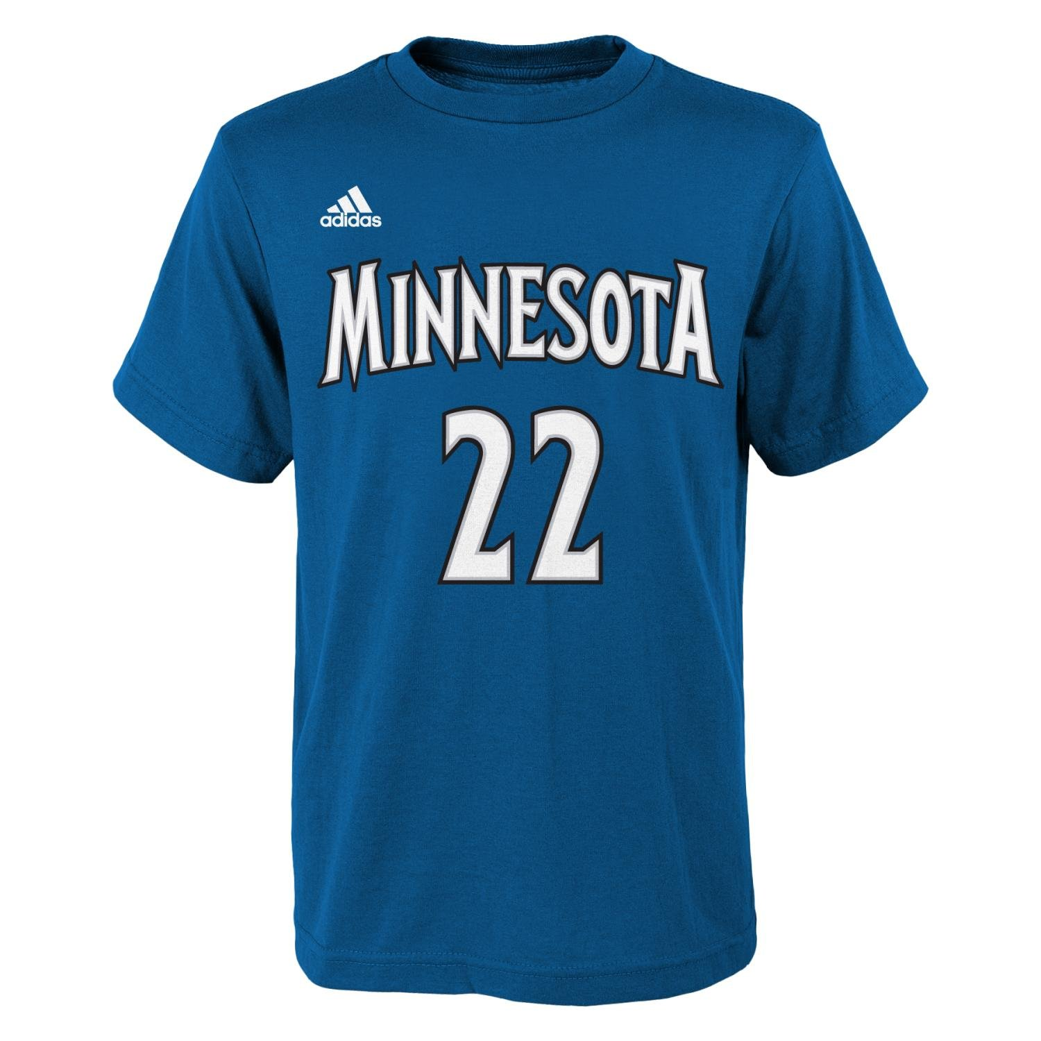 598d0145dab Amazon.com : Minnesota Timberwolves Adidas Andrew Wiggins T Shirt Youth  Boys 8-20 (Youth XL 18) : Sports & Outdoors
