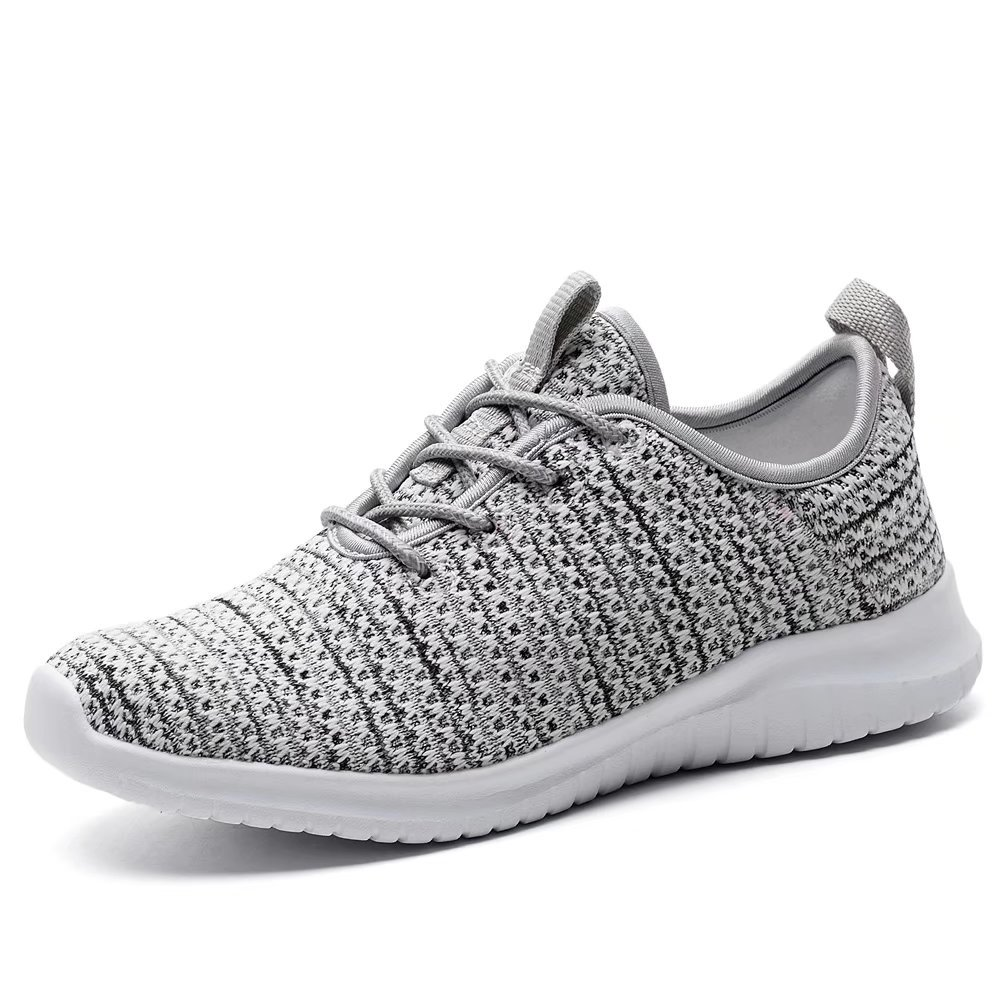 Echoine Women's Fashion Athletic Sneakers Lightweight Flyknit Walking Sports Running Shoes