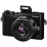 Panasonic DC-GX800KEBK Lumix G Compact System Camera - Black (12-32 mm Lens, 4K Video and Photo)