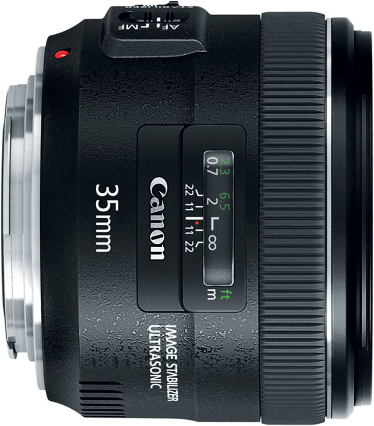 Canon EF 35mm f//2 IS USM Wide-Angle Lens