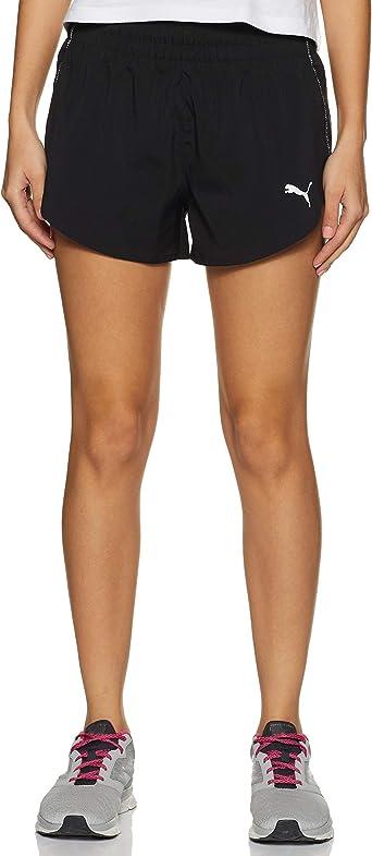 Puma Ignite 3 Short Pantalones Cortos Mujer Amazon Es Ropa Y Accesorios