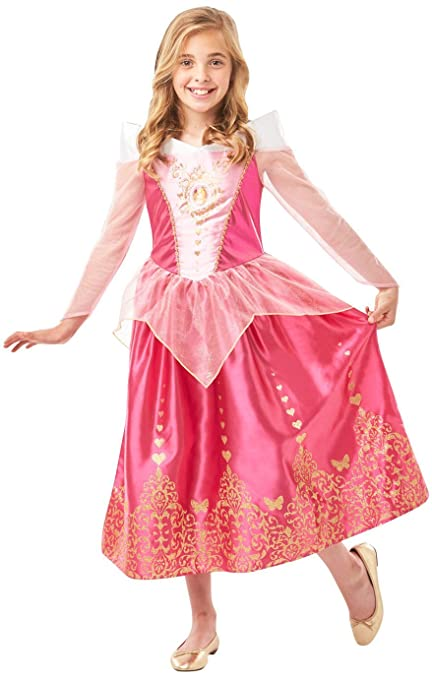Rubies 640715 Aurora - Gema oficial de princesa Disney para dormir (altura de 140 cm, talla de 9 a 10)