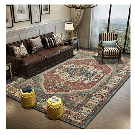Amazon.com: jin Nordic Modern Style Rugs Retro Home ...