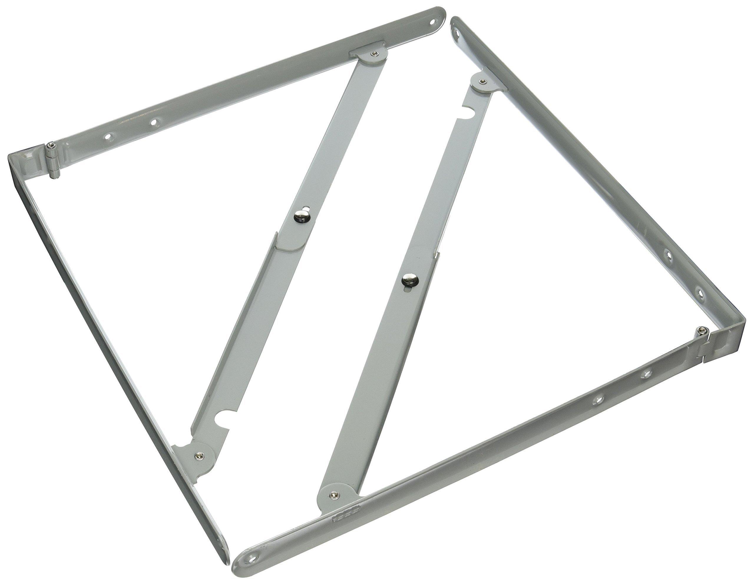 Folding Shelf Bracket Sp1794 8in X 8in Sold In Pairs by Parker