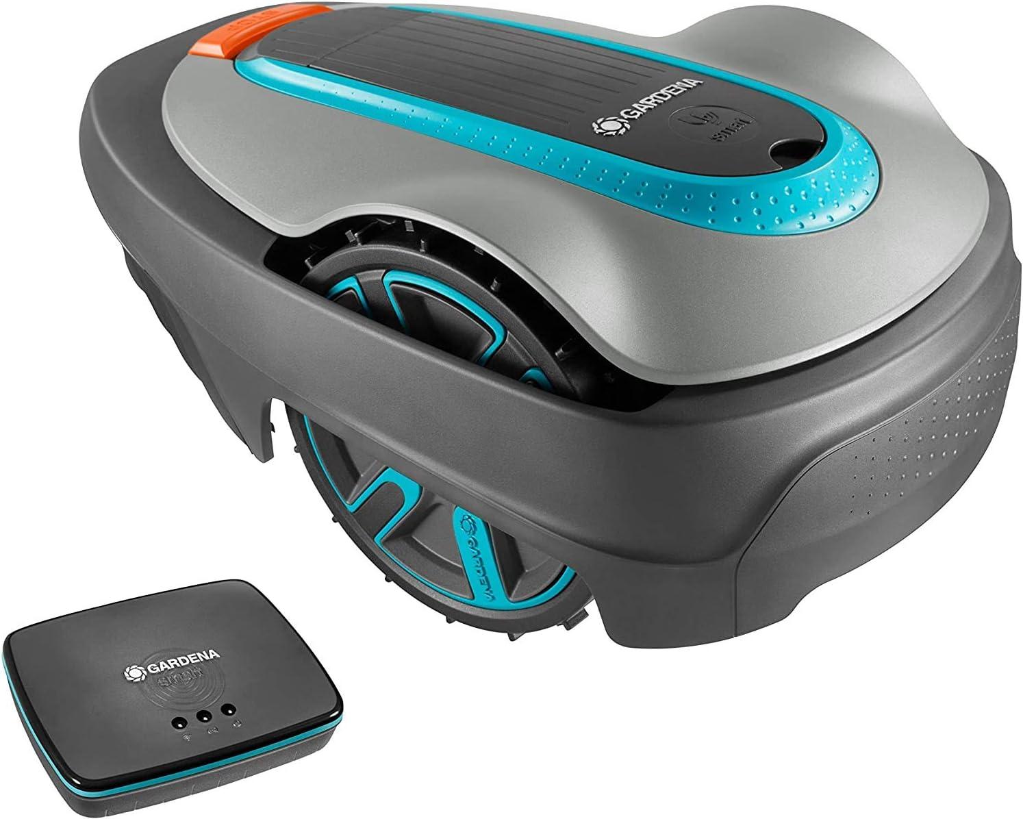 Ensemble GARDENA smart SILENO city 300 : Robot de tonte pour jusqu'à...