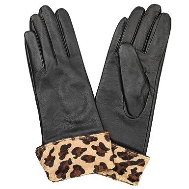 New 100/% Warmen Women/'s long GENUINE LAMBSKIN soft leather winter warm gloves