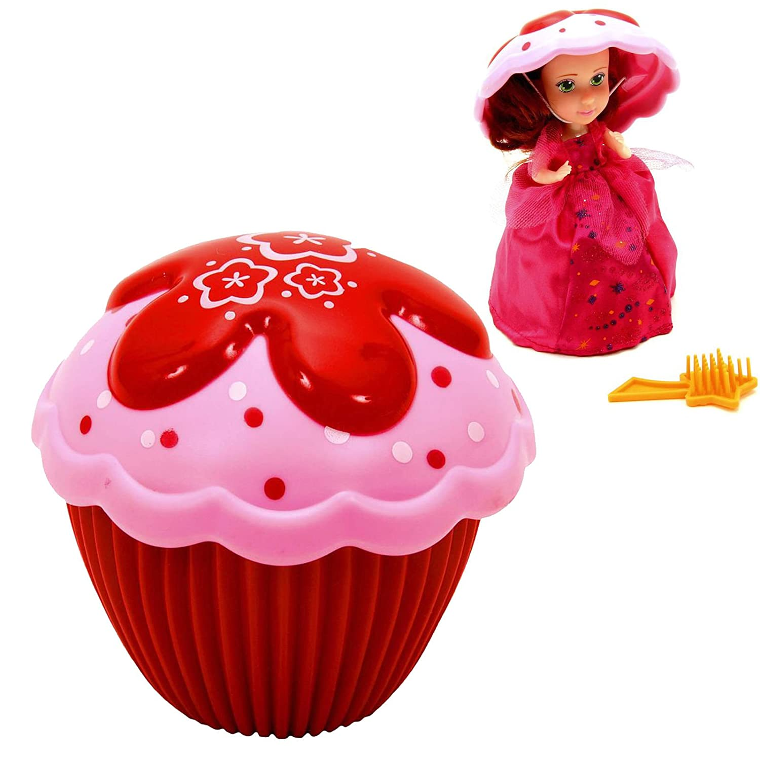 Cupcake Surprise Scented Princess Doll (Colors & Styles May Vary),