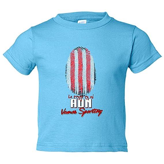 Camiseta niño lo tengo en mi ADN Sporting fútbol - Amarillo, 3-4 años: Amazon.es: Bebé