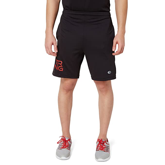 7f2d39db570938 Athlete Mens Premium Polyster Summer Training Gyming Shorts for Exercise Jogging Printed  Sports Vests Cycling Workout Yoga Pants and All Fitness Activities