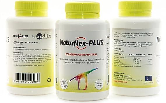Colágeno Marino Natural + Magnesio + Ácido Hialurónico + Vitamina C . 540 Comp. 432 gr.: Amazon.es: Salud y cuidado personal