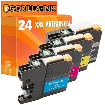 Gorilla de Ink® 24 x Cartuchos de Tinta XXL (compatible con ...