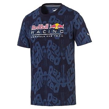 Camiseta Puma Red Bull Racing AOP  Amazon.com.br  Esportes e Aventura a7ae7599683