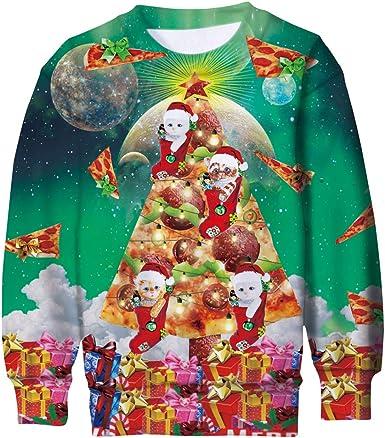 Ugly Christmas Sweater Funny Christmas Fleece Sweatshirt