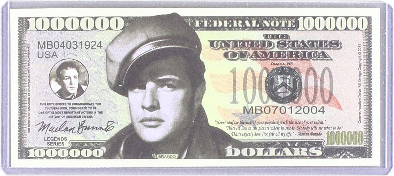 Marlon Brando  Million Dollar Novelty Money