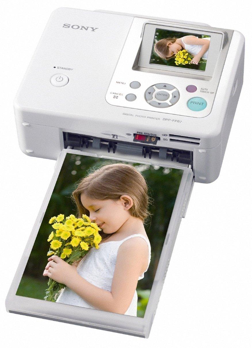 Sony FP67 - Impresora fotográfica (8000 x 6000 DPI, 63s, LCD, 6,1 ...