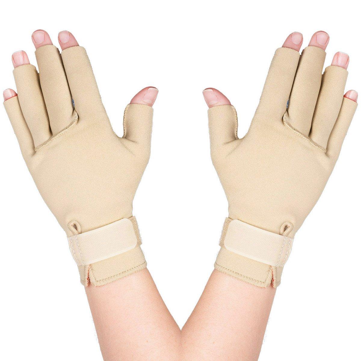 Thermoskin Arthritis Gloves, Beige, Medium