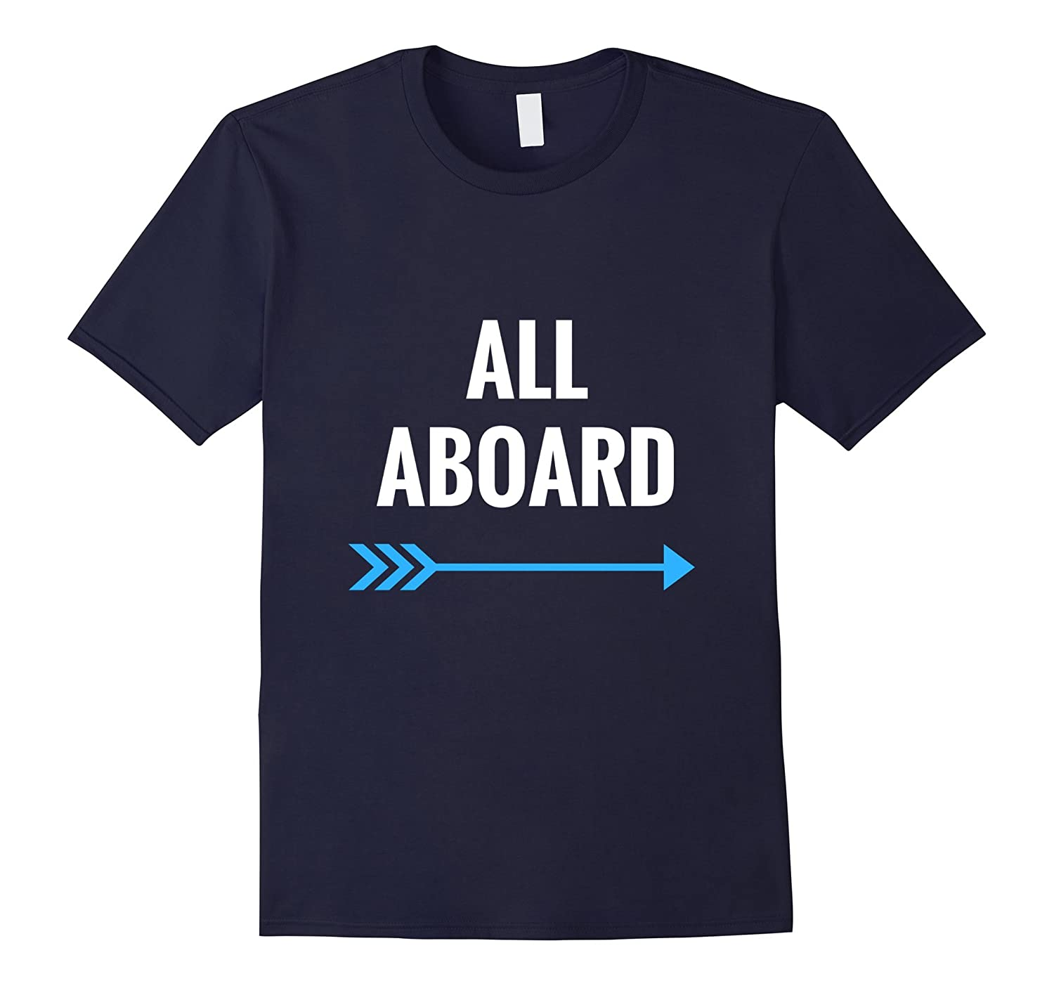 All Aboard Train TShirt - Railfan Shirt - Model Railroad Tee-TD
