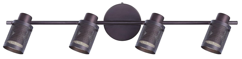 CANARM LTD. IT356A02BPT10 James 電球2個用 トラック照明 4 Light - LED IT576A04ORB-LED B01LBFU0P2 4 Light - LED|オイルステイン仕上げブロンズ オイルステイン仕上げブロンズ 4 Light - LED