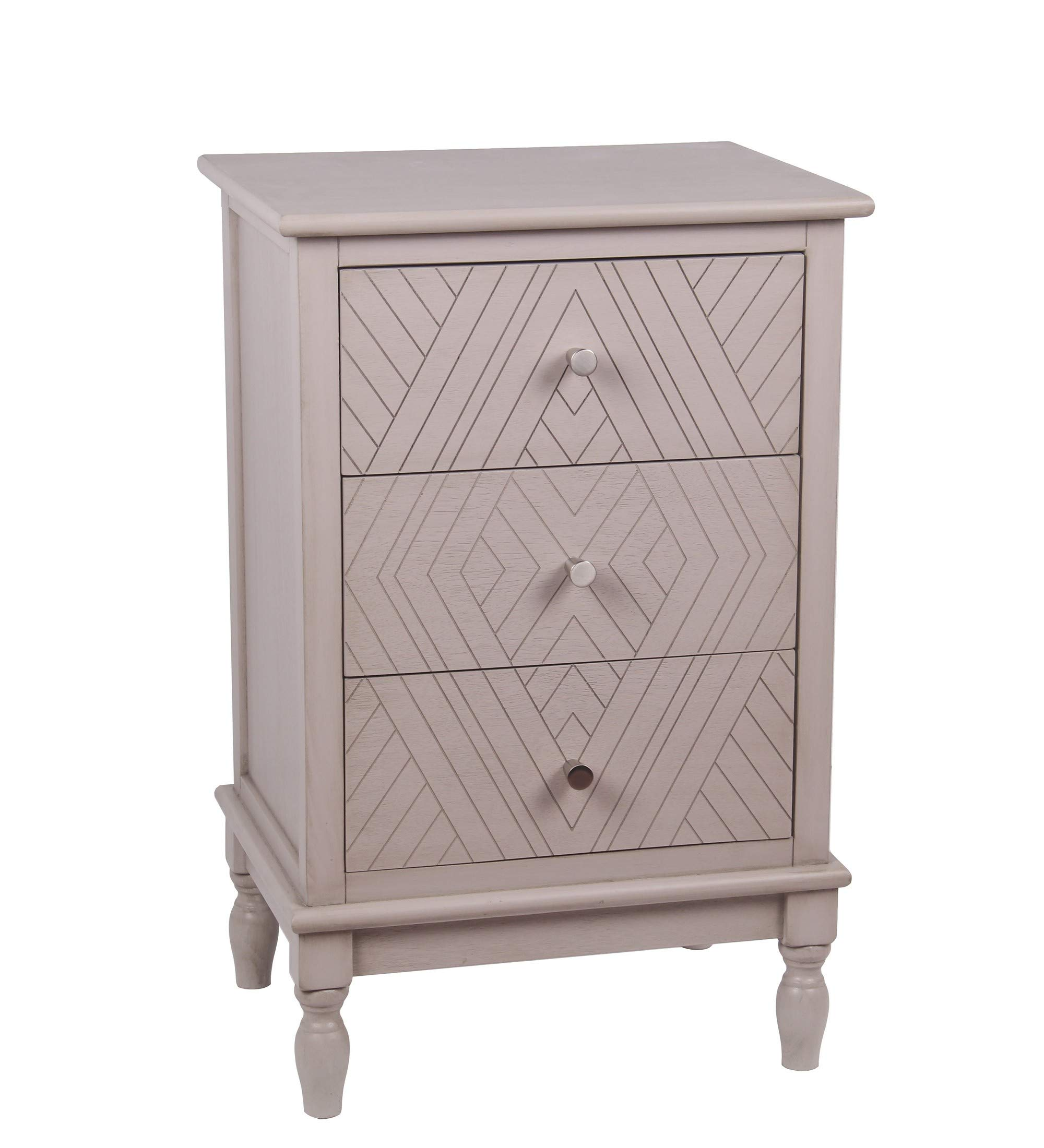 Privilege Weston 3 Drawer Accent Chest 28647 by Privilege