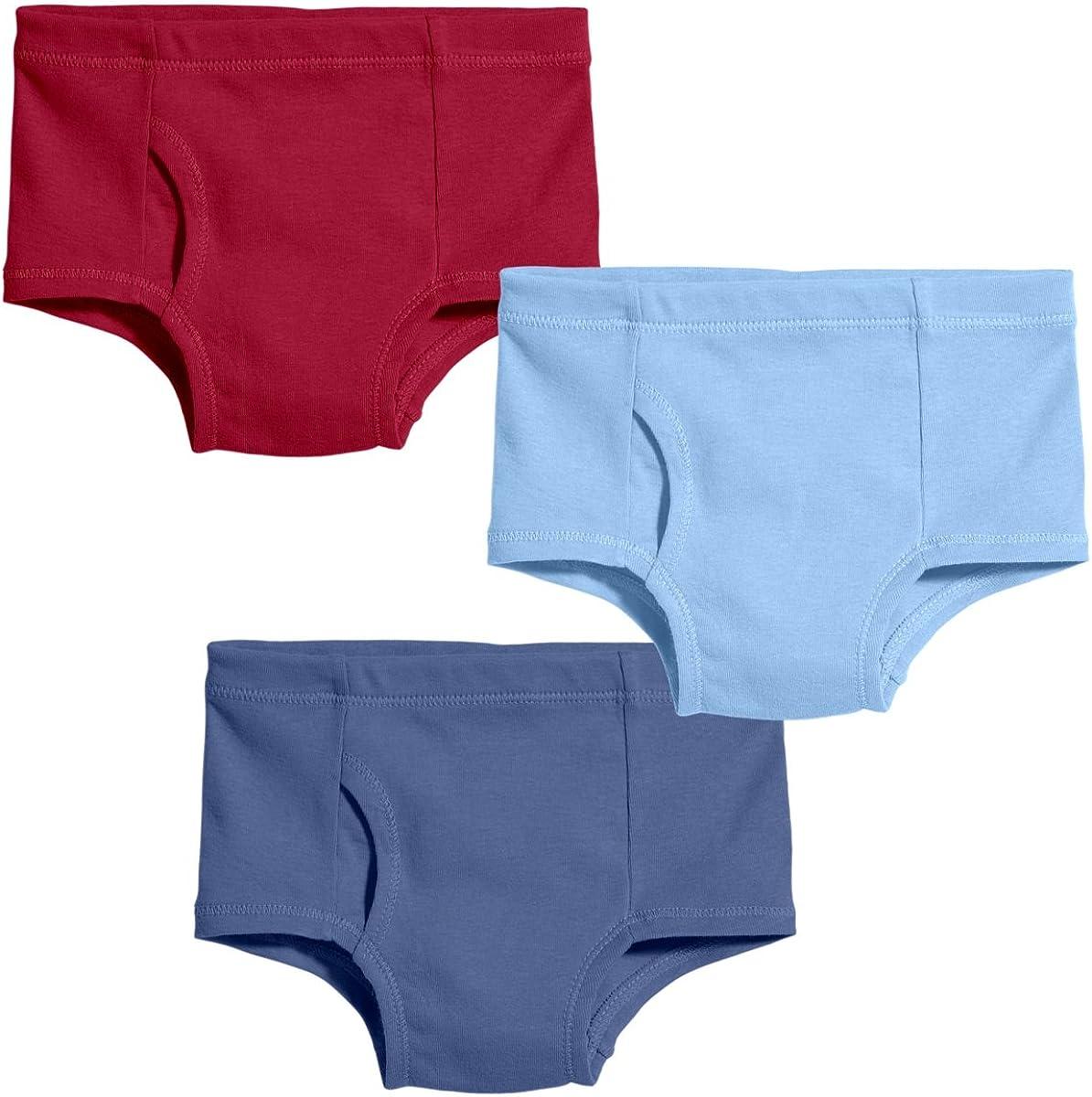 City Threads Boys 100/% Certified Organic Cotton Briefs Underwear Made in USA