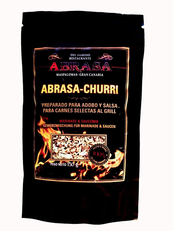 ABRASA-CHURRI Preparado para salsas y adobo: Amazon.es: Alimentación y bebidas