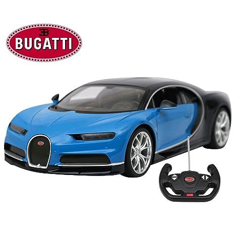Amazon Com Radio Remote Control 1 14 Scale Bugatti Chiron Licensed