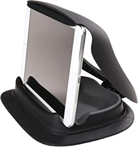 """Navitech in Car Dashboard Friction Mount Compatible with The Samsung Galaxy Tab A 8""""   Samsung Galaxy Tab Active 2 8.0"""""""