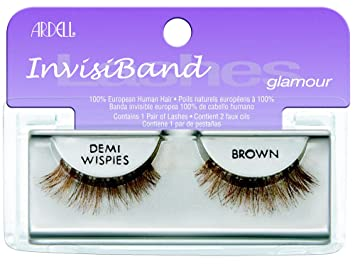 df2d3514c67 Amazon.com : Ardell Invisiband Lashes, Demi Wispies Brown, 1 Pair ...