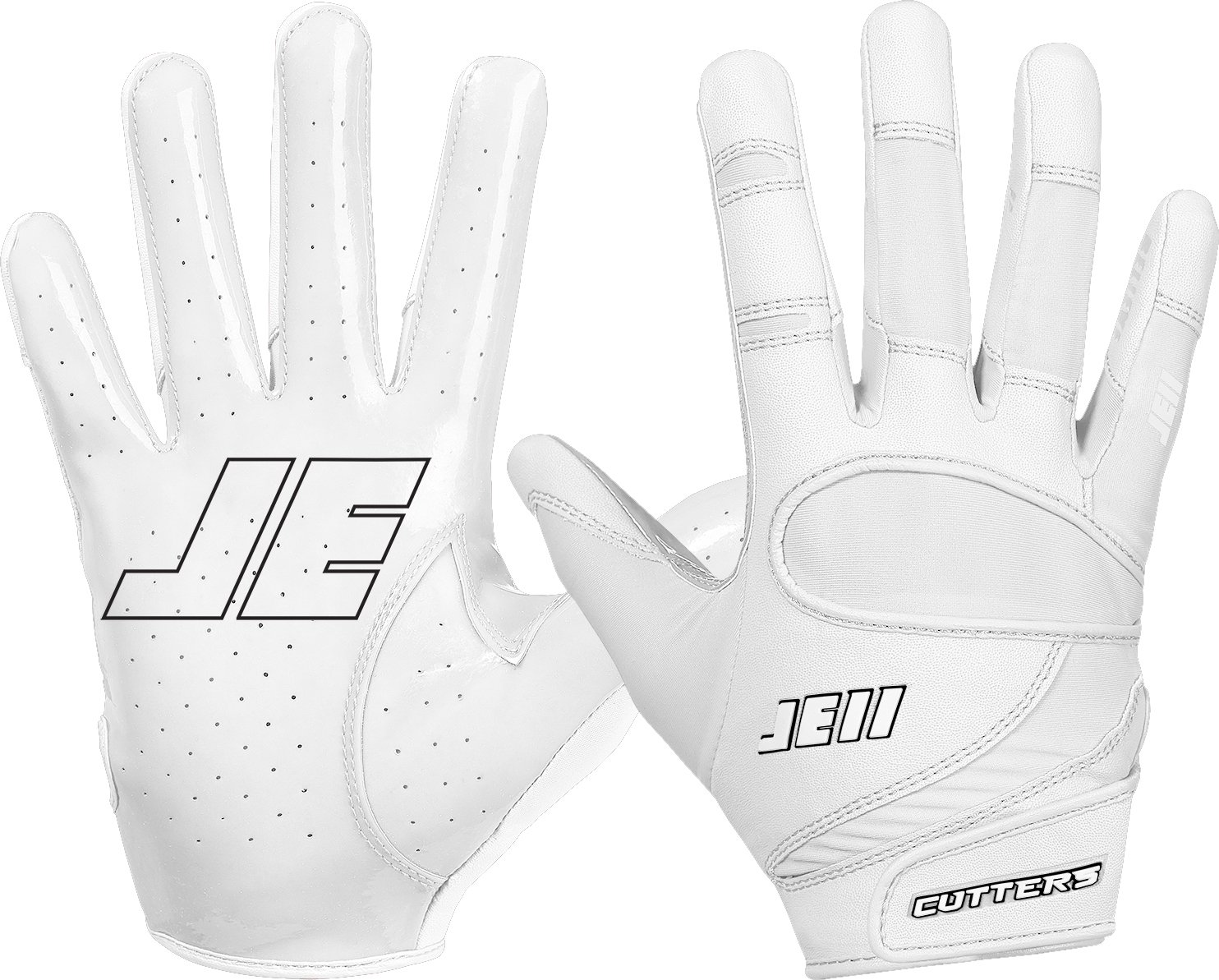 Cutters Gloves Signature Series Gloves, White, X-Large