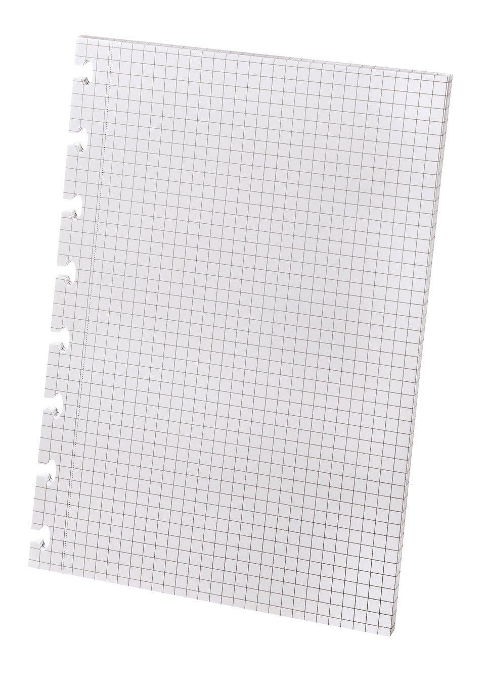 Ampad Versa Graph Paper Refill, 5-1/2'' x 8-1/2'', Graph Rule, White, 24/carton