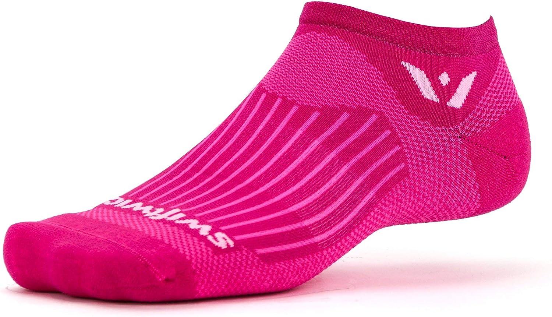 Swiftwick- ASPIRE ZERO Running Socks & Cycling Socks, Wicking, No-show, Mens & Womens