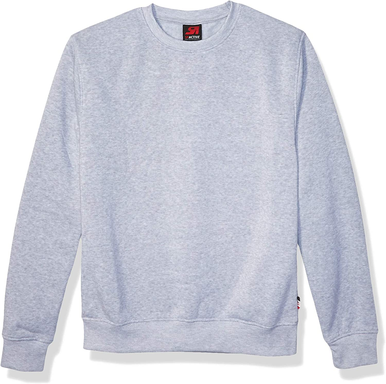 Southpole Mens Active Basic Crew Neck Fleece Pullover Sweatshirt