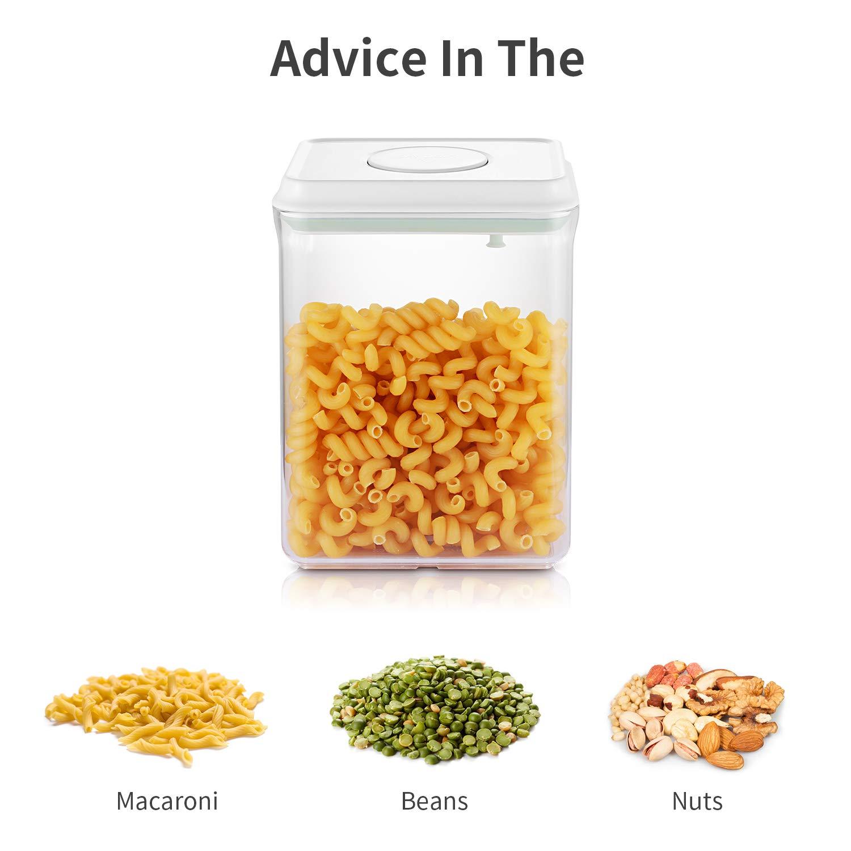 Transparent sans BPA pour la Cuisine ou Le Restaurant SKY LIGHT Bo/îtes Alimentaires Bo/îtes et Coffrets /à caf/é et th/é Bo/îte de Conservation Alimentaire 1L Rectangle