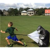 "LucaSng Speed Training Resistance Parachute 48"" Inch Sports Power Running Chute Parachute"