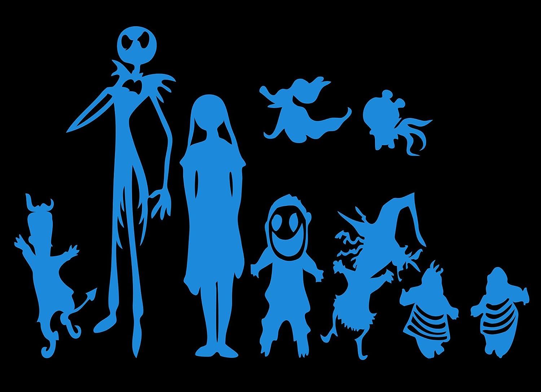 Amazon.com: Disney Nightmare Before xmas Jack Skellington And Family ...