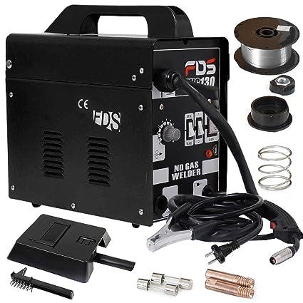 Máquina de soldadura de amperios Costway, de gas, de protección FLUX, de electrodos