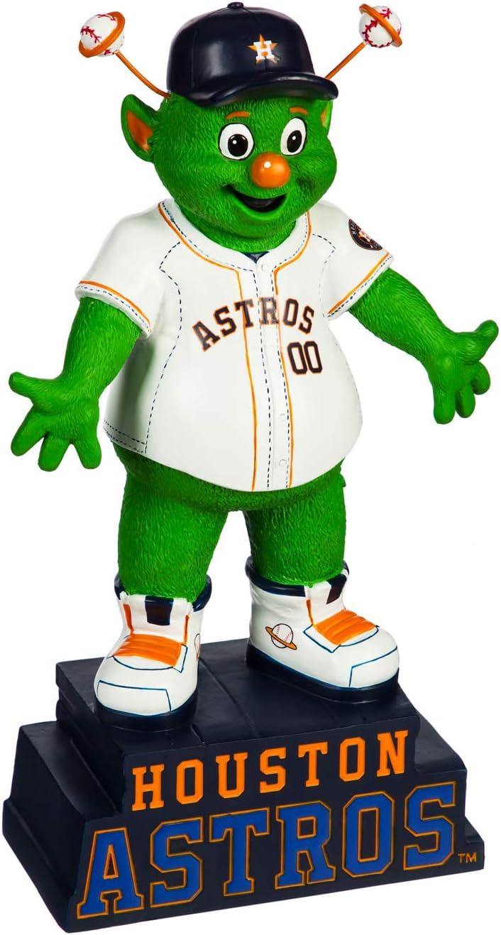 Evergreen Enterprises MLB Houston Astros Mascot DesignGarden Statue, Team Colors, One Size