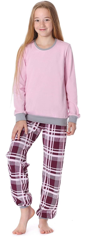 Merry Style Pyjama Ensemble Haut et Bas V/êtement dInt/érieur Fille MS10-192