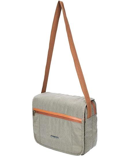 1d068f8bc6 Casual Messenger Bag - Killer Lyon Crossbody College Sling Bag - Green   Amazon.in  Bags