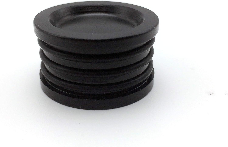 HONDA//ACURA B//H//F-SERIES ALUMI ENGINE BLACK O-RING CAMSHAFT SEAL CAP PLUG BLACK