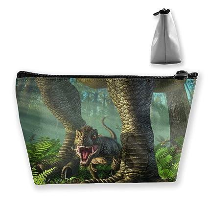 Dinosaurios que caminan en un bosque tropical con sol Bolsas ...