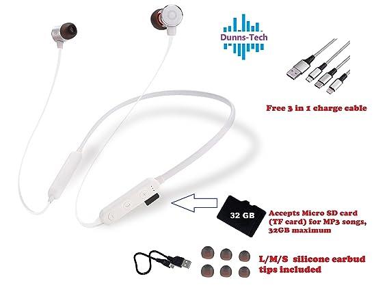 Amazon.com: Dunns D8 - Auriculares de diadema Bluetooth con ...