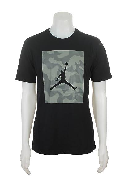 super popular 403a6 42911 Amazon.com  Jordan 925809-010 Men M JSW TEE Jumpman P51 CAMO Black  JORDAN   Sports   Outdoors