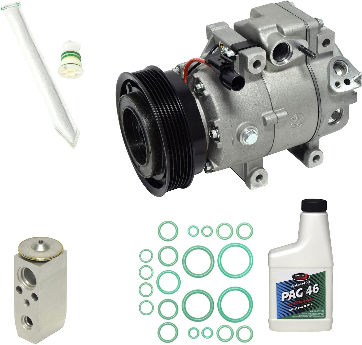 Universal Air Conditioner KT 2011 A//C Compressor and Component Kit