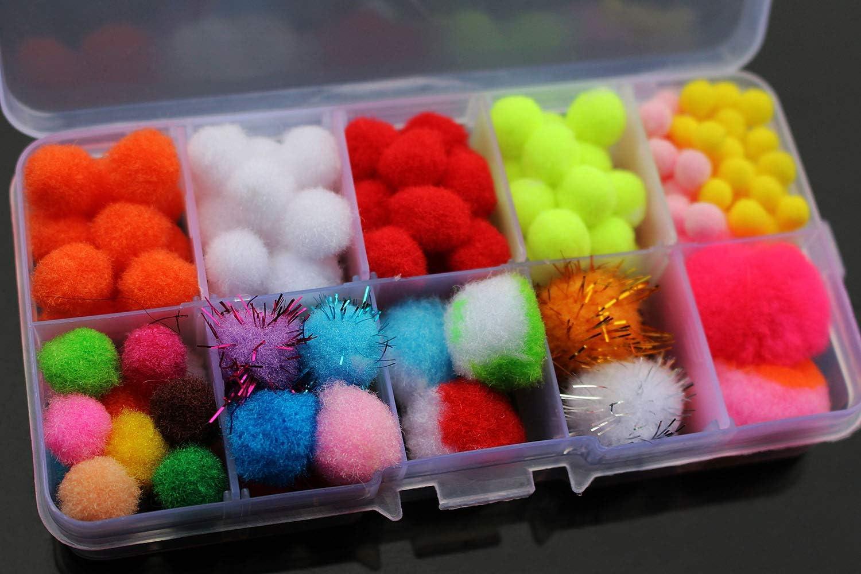 10pcs//lot 6 colors Nuke Egg Fly Glo Bug Fly Fishing Flies Lures Fishing Ba MF
