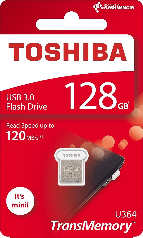 Toshiba Thn U364w1280e4 128gb U364 Transmemory Usb 30 Flash Drive Disc 64 Gb Computers Accessories