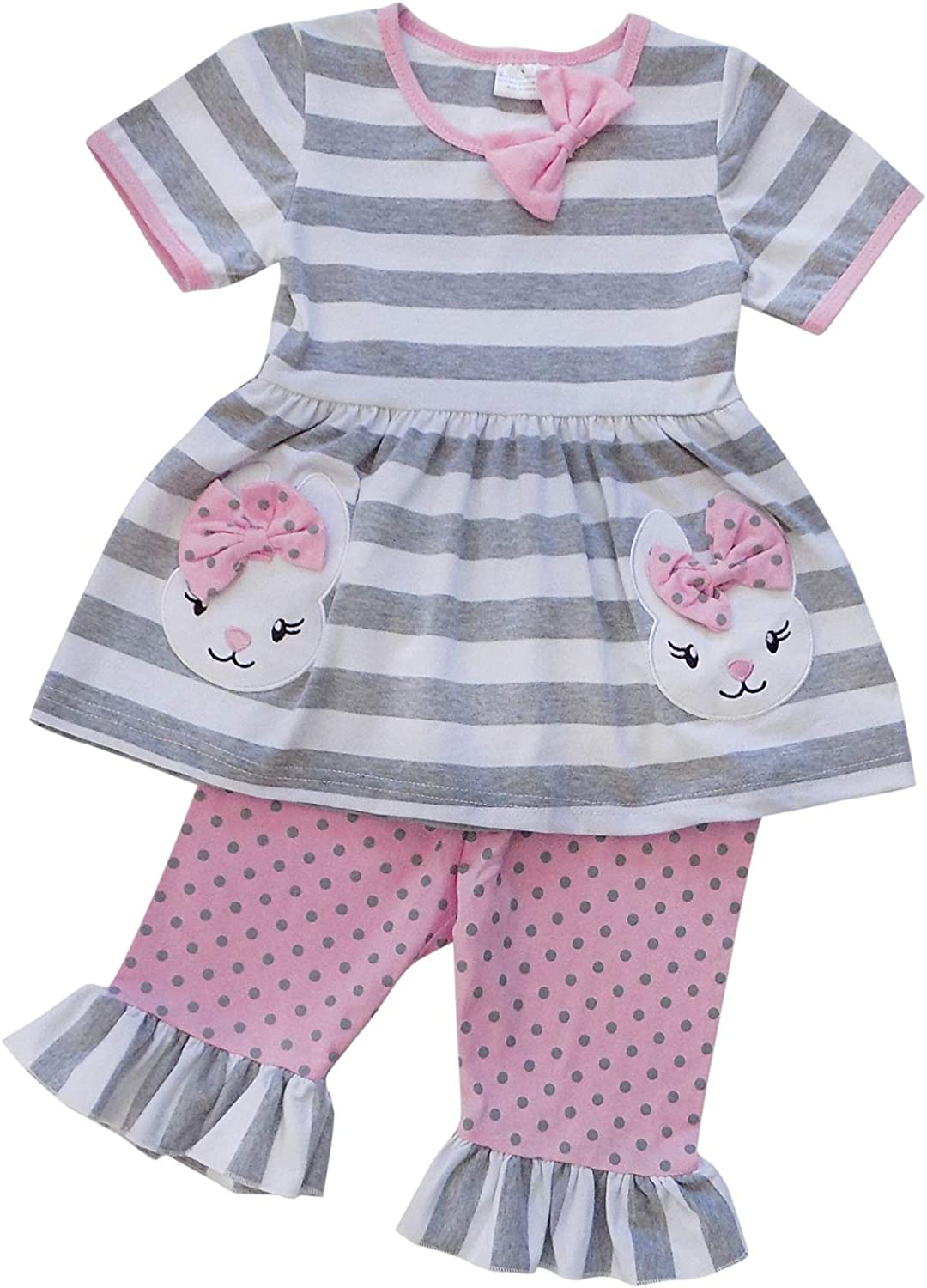 4T , One Cute Chick Skirt So Sydney Suspender /& Skirt 2 Piece Outfit M Girls Toddler Spring Easter Holiday Dress Up Boutique Outfit Clothes