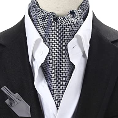 f48b42c08d5a Men's Scarf/Suit Double-sided Silk Scarf/Shirt Collar Scarf/Tie Scarves-A  at Amazon Men's Clothing store: