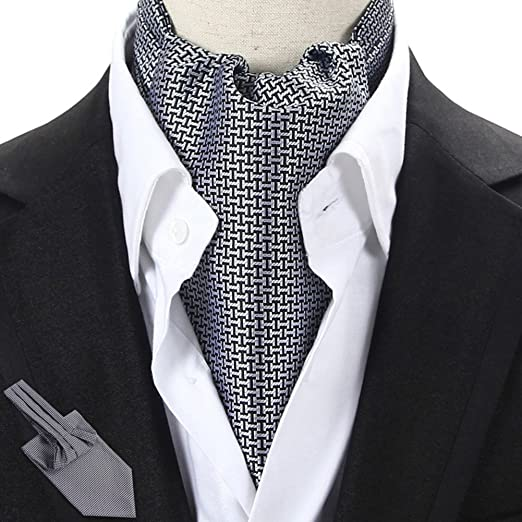 Men s Scarf Suit Double-sided Silk Scarf Shirt Collar Scarf Tie Scarves 03f6b8a3488